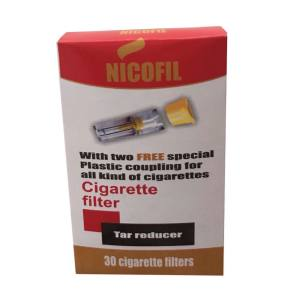 فیلتر سیگار نیکوفیل کد 102 بسته 30 عددی