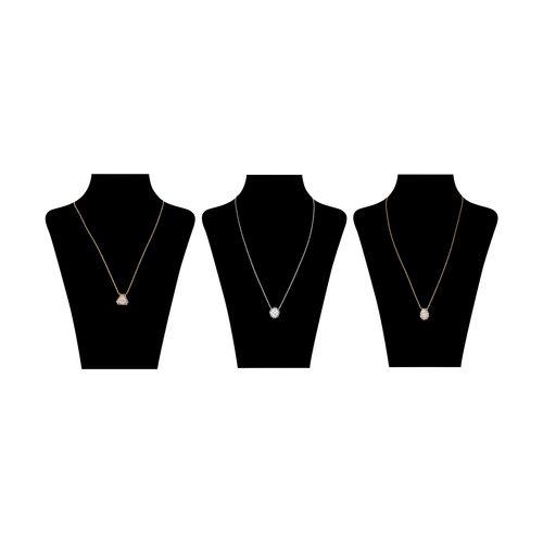 گردنبند زنانه آلدو مدل CHIGORIA-86 بسته 3 عددی