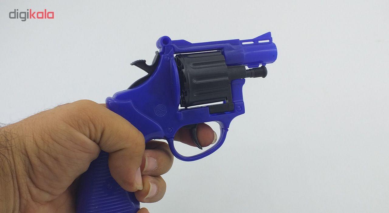 تفنگ اسباب بازی جیمبو طرح هفت تیر مدل SH 96 main 1 2