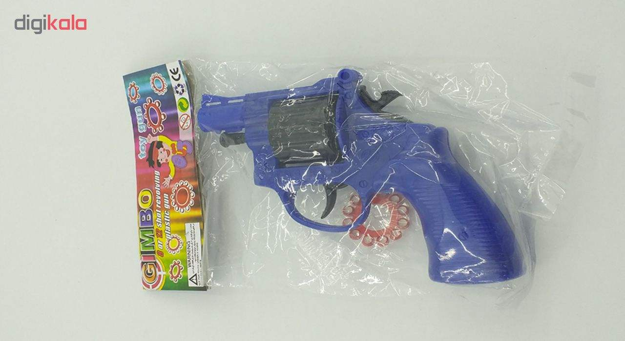 تفنگ اسباب بازی جیمبو طرح هفت تیر مدل SH 96 main 1 3