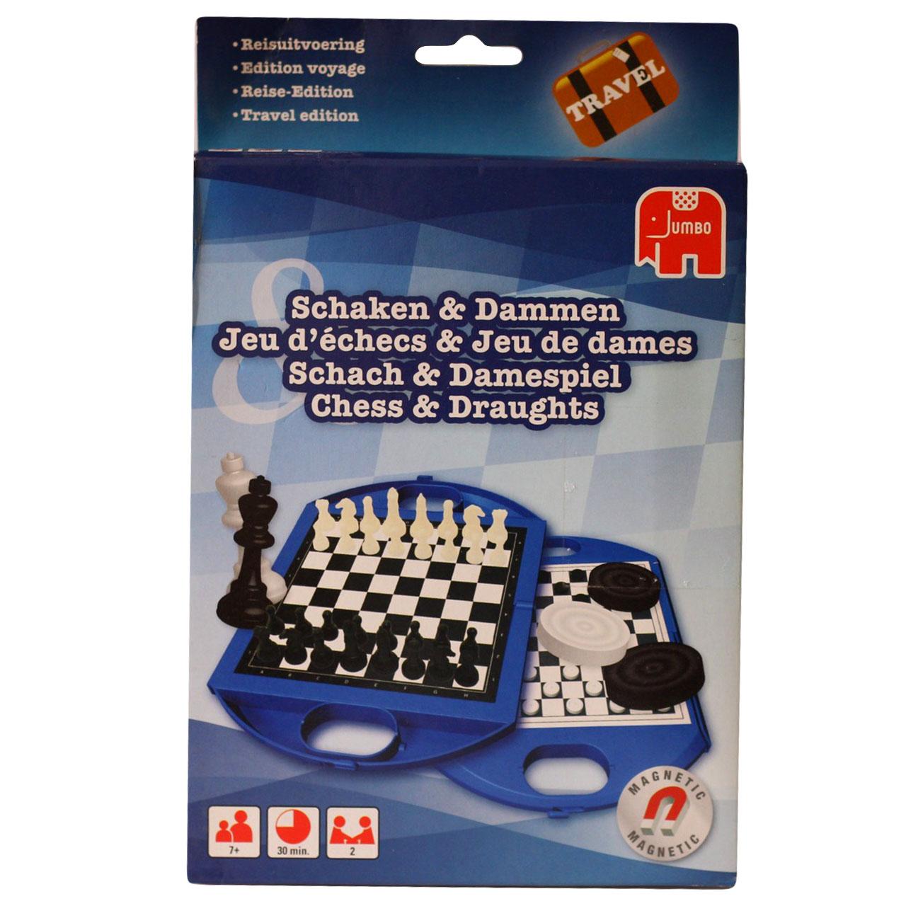 بازی فکری جامبو مدل Chess کد JC04