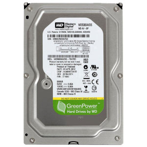 هارد دیسک اینترنال وسترن دیجیتال مدل WD-AV-GP WD5000AVDS ظرفیت 500 گیگابایت
