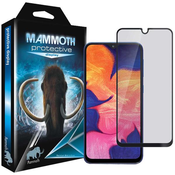 محافظ صفحه نمایش حریم شخصی ماموت مدل PFM مناسب برای گوشی موبایل سامسونگ Galaxy M10