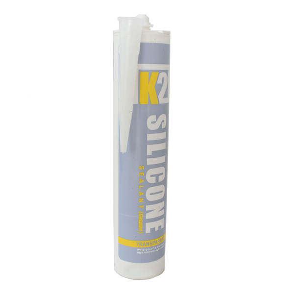 چسب آکواریوم شفاف کاسپین مدل K2 حجم 300 میلی لیتر