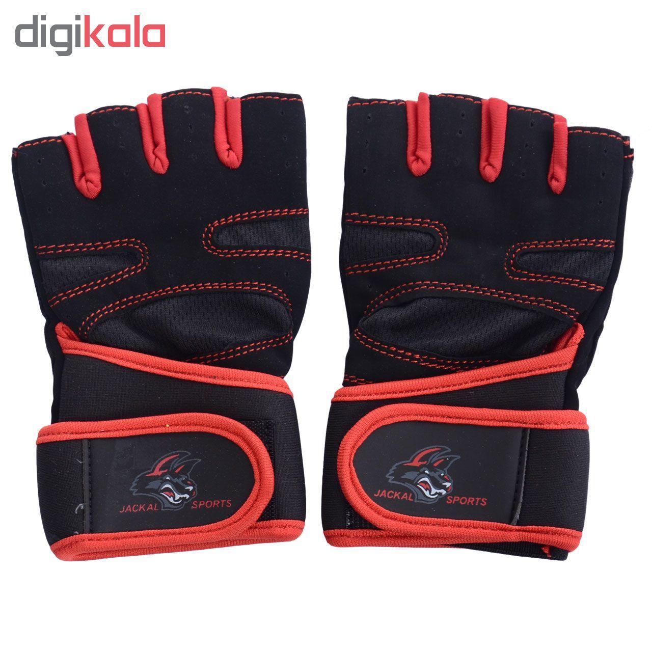 دستکش ورزشی جاکال اسپرتز کد JK02R main 1 1