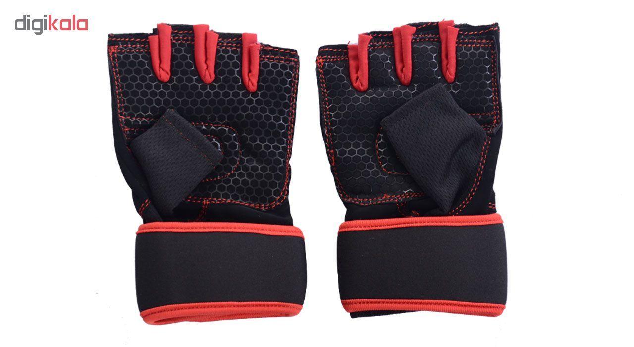 دستکش ورزشی جاکال اسپرتز کد JK02R main 1 2