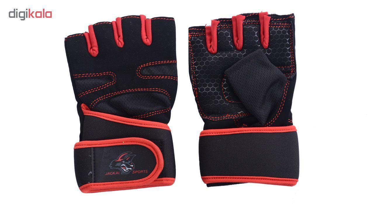 دستکش ورزشی جاکال اسپرتز کد JK02R main 1 3