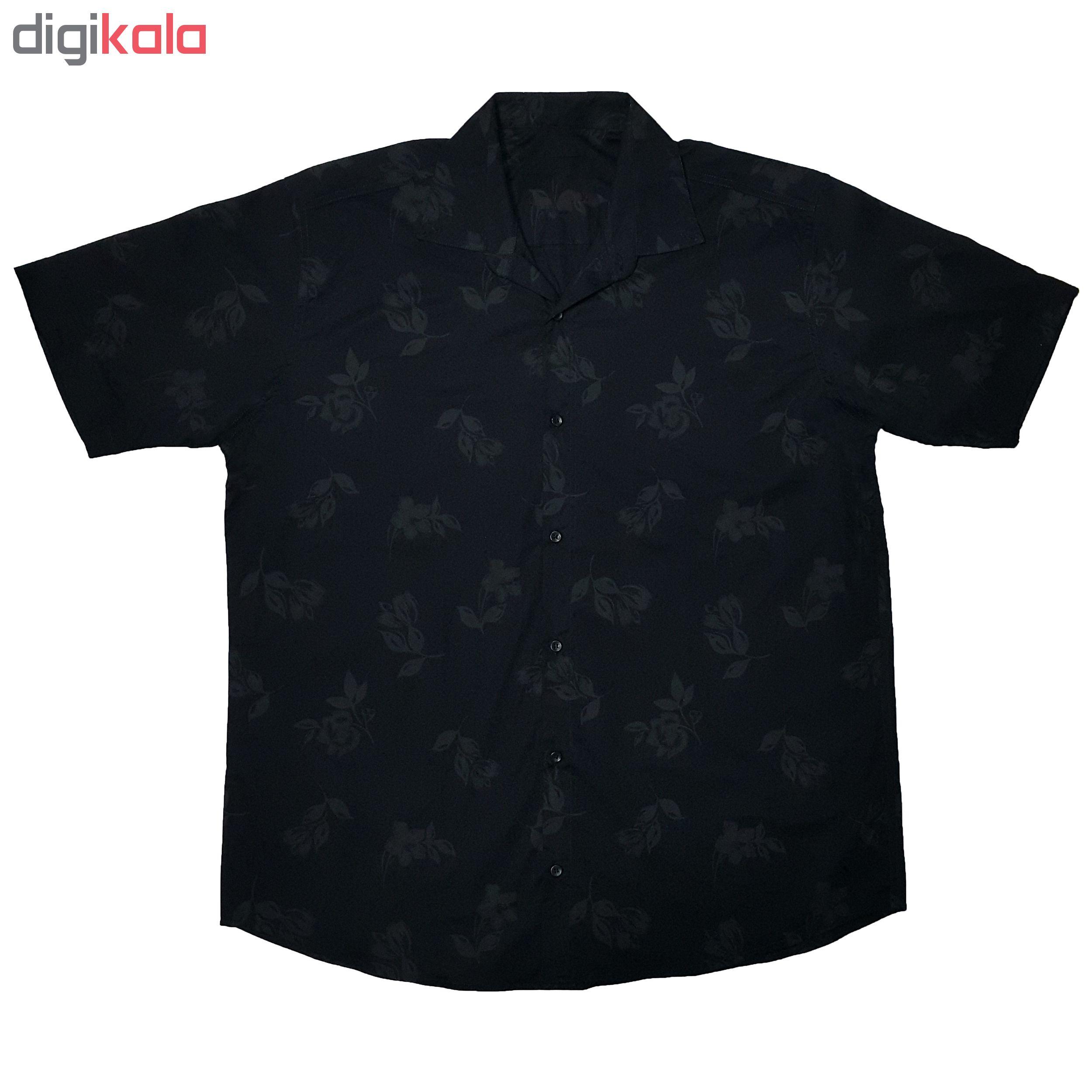 پیراهن آستین کوتاه مردانه کد P12