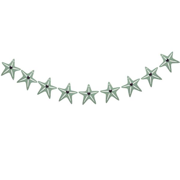عکس ریسه تزیینی طرح ستاره
