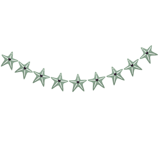 ریسه تزیینی طرح ستاره