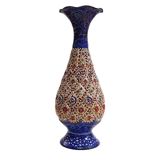 عکس گلدان مینا کاری کد 1206