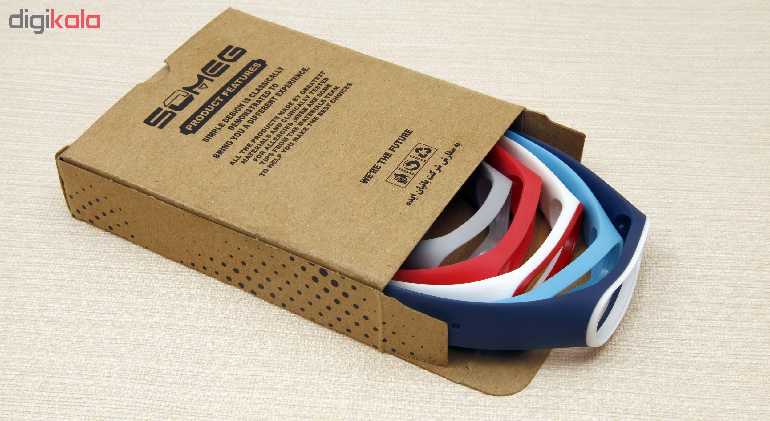 بند سومگ مدل SMG-P3 مناسب برای مچ بند هوشمند شیائومی Mi Band 4  مجموعه 5 عددی main 1 14