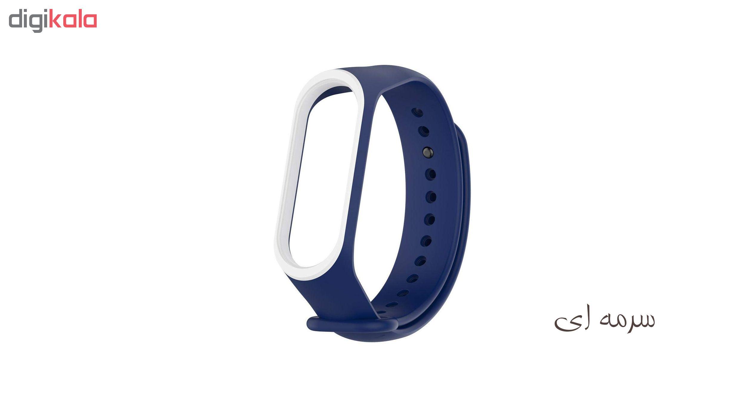 بند سومگ مدل SMG-P3 مناسب برای مچ بند هوشمند شیائومی Mi Band 4  مجموعه 5 عددی