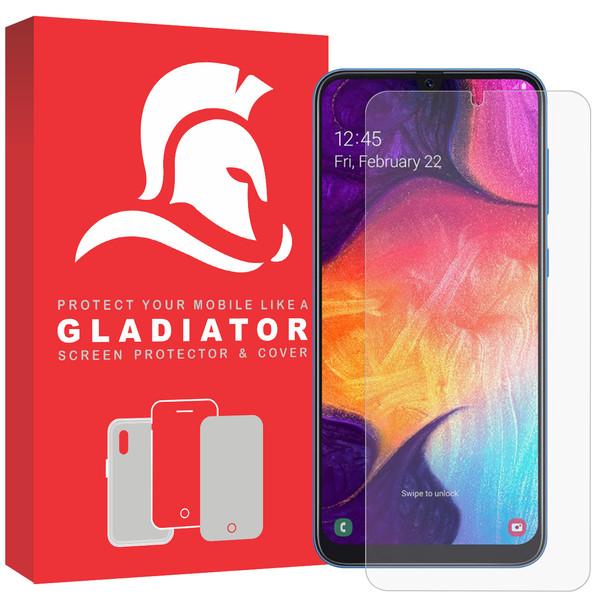 محافظ صفحه نمایش گلادیاتور مدل GLS1000 مناسب برای گوشی موبایل سامسونگ Galaxy A50