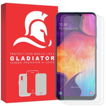 محافظ صفحه نمایش گلادیاتور مدل SN2-A50 مناسب برای گوشی موبایل سامسونگ Galaxy A50 بسته دو عددی