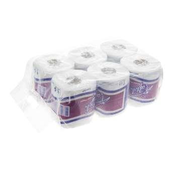 دستمال توالت تافته مدل Purple بسته 6 عددی