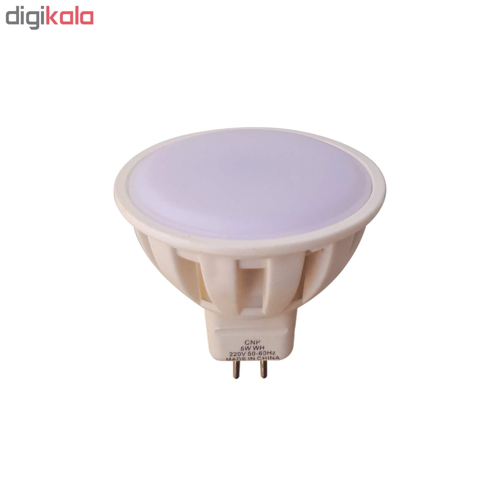 لامپ هالوژن ال ای دی 5 وات مدل CNP پایه سوزنی بسته 50 عددی main 1 2
