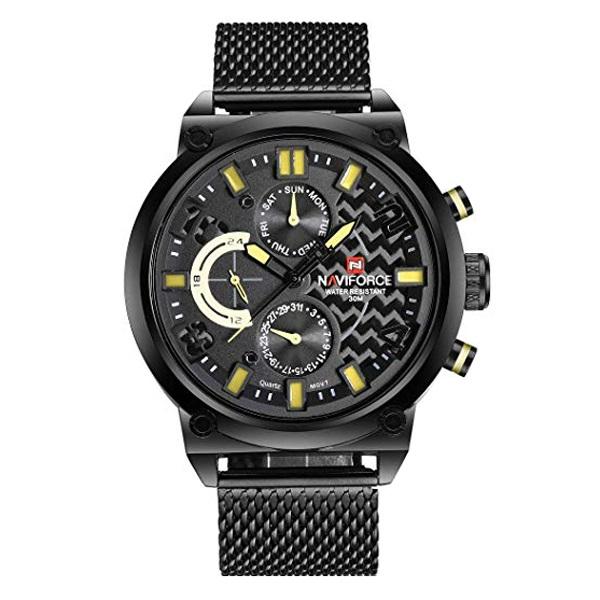 کد تخفیف                                      ساعت مچی عقربه ای مردانه نیوی فورس کد NF9068M - FE-ME-Z