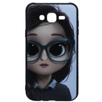 کاور طرح Girl مدل Ner-007 مناسب برای گوشی موبایل سامسونگ Galaxy J7 2015