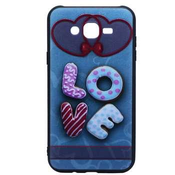 کاور طرح Love مدل Ner-007 مناسب برای گوشی موبایل سامسونگ Galaxy J7 2015