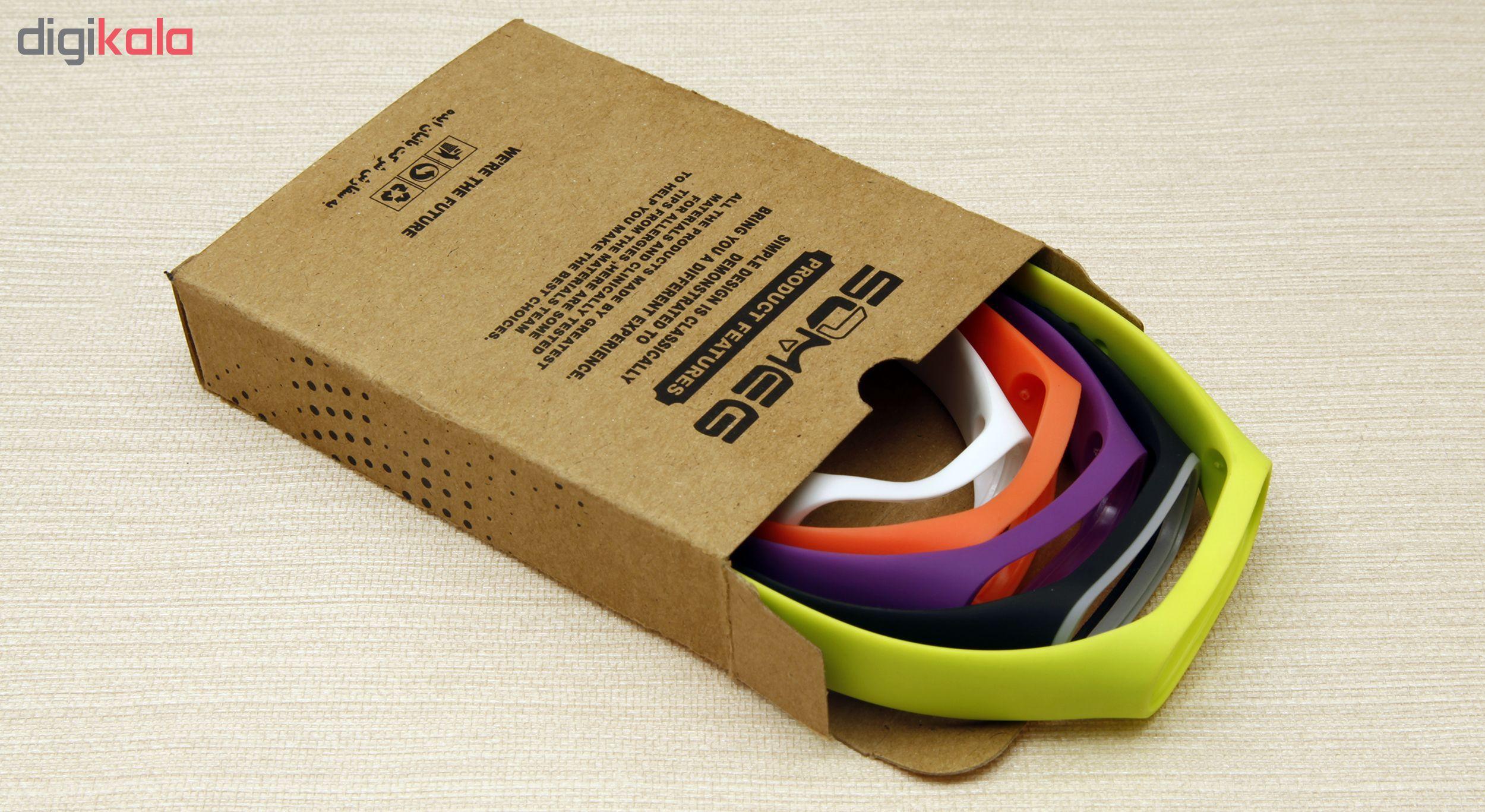 بند سومگ مدل SMG-P2 مناسب برای مچ بند هوشمند شیائومی Mi Band 4  مجموعه 5 عددی main 1 16