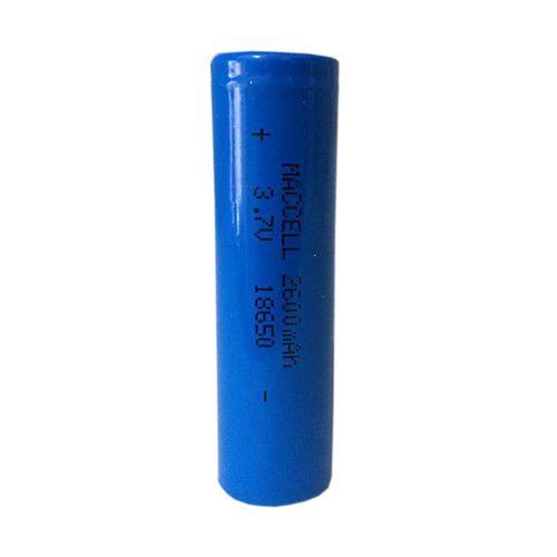 باتری لیتیوم یون قابل شارژ کد 18650 ظرفیت 2600 میلی آمپر
