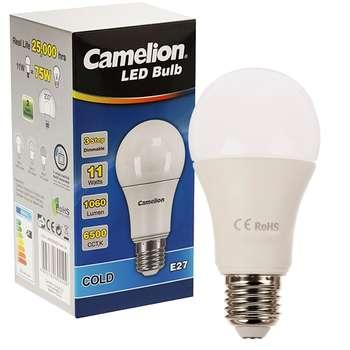 لامپ ال ای دی 11 وات دیمردار کملیون مدل LED11-A60/265/E27-dim-3s
