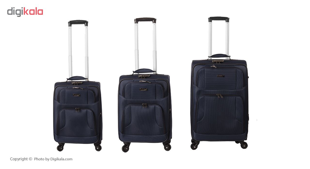 مجموعه سه عددی چمدان پاریس کد Ta88