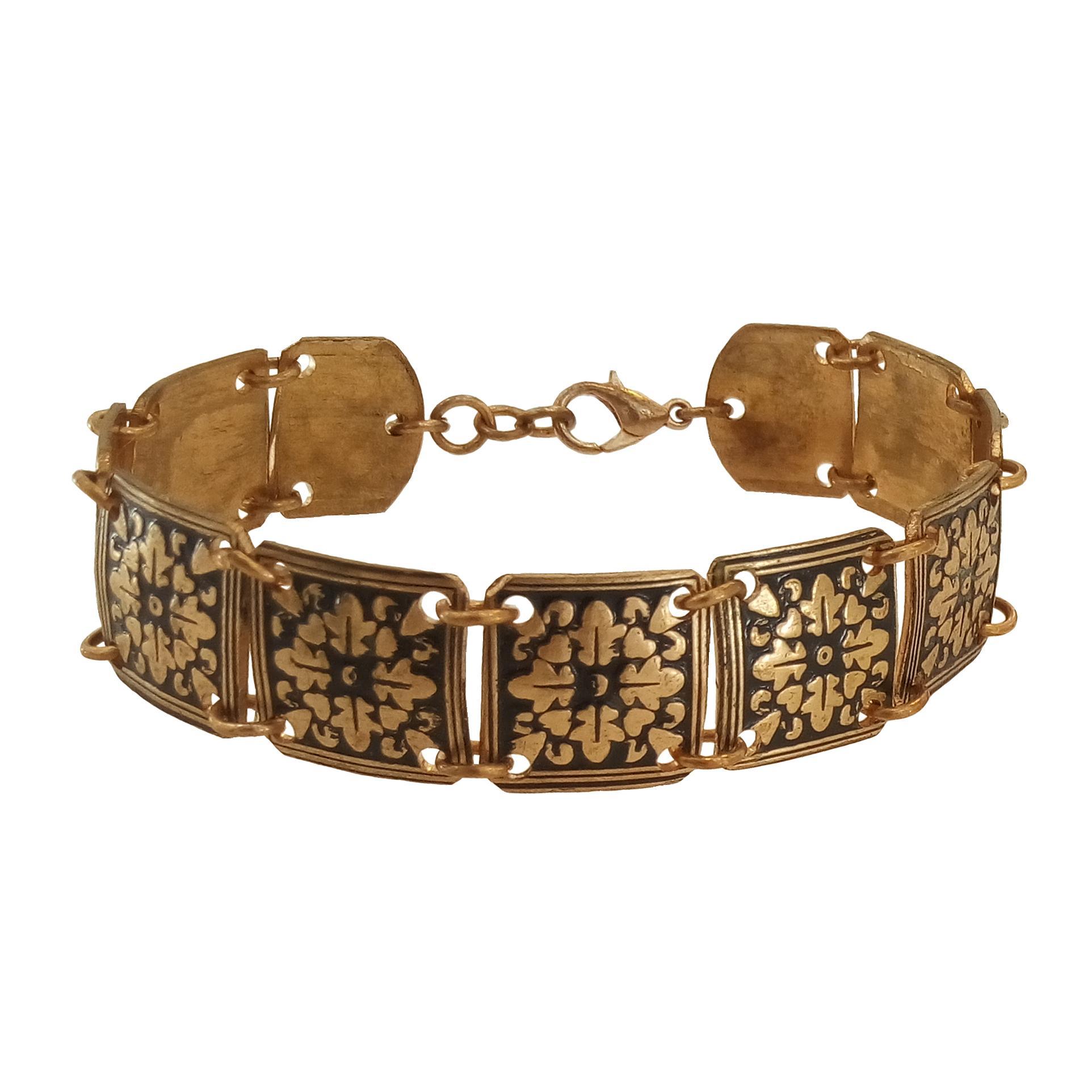 قیمت دستبند طرح چهار برگ کد 721