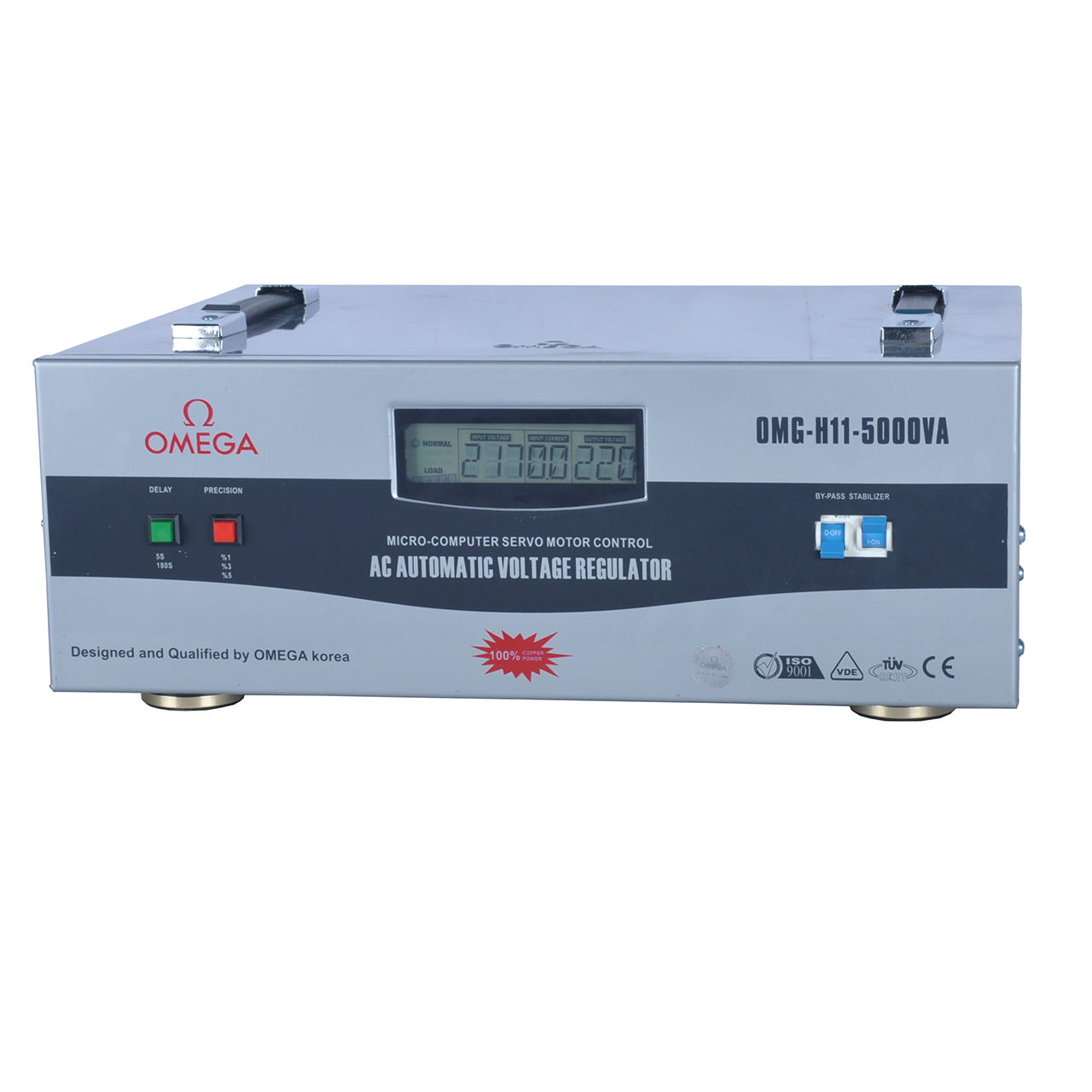 استابلایزر امگا مدل OMG-H11-5KVA ظرفیت 5000VA