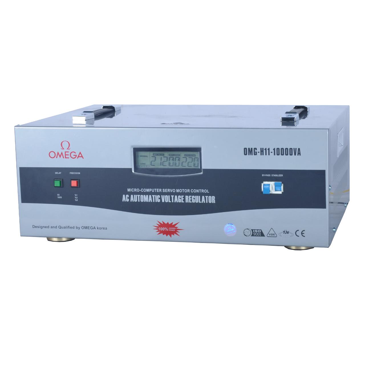 استابلایزر امگا مدل OMG-H11-10KVA ظرفیت 10000VA