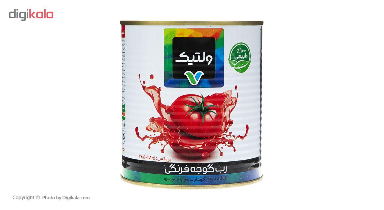 رب گوجه فرنگی ولتیک وزن 800 گرم