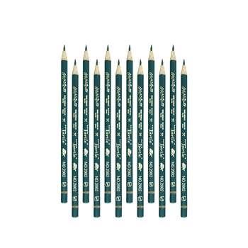 مداد مشکی پارس مداد مدل لاک پشت ایرانی کد 2001 بسته 12 عددی