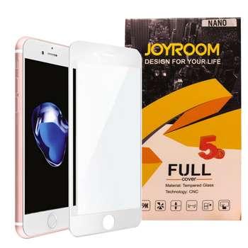 محافظ صفحه نمایش 5D جوی روم مدل fullc مناسب برای گوشی موبایل اپل IPHONE 7/8