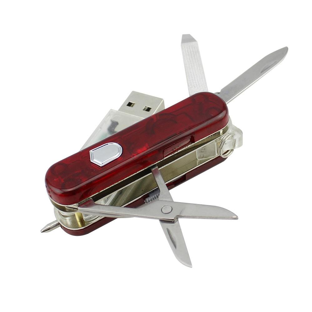 فلش مموری طرح چاقوی چندکاره مدل UM-001 ظرفیت 32 گیگابایت
