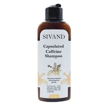 شامپو ضد ریزش مو سیوند مدل Caffein حجم ۲۰۰ میلی لیتر