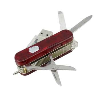 فلش مموری طرح چاقوی چندکاره مدل UM-001 ظرفیت 64 گیگابایت