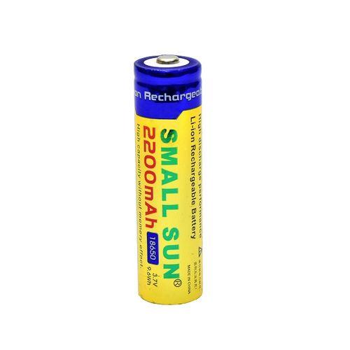 باتری لیتیوم یون قابل شارژ اسمال سان کد 18650 ظرفیت 2600 میلی آمپر
