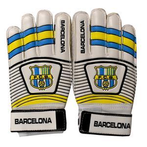 دستکش دروازه بانی پسرانه طرح بارسلونا کد 006