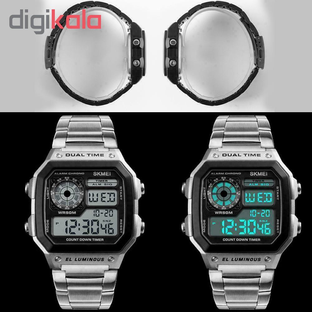 ساعت مچی دیجیتال اسکمی کد 1335S             قیمت