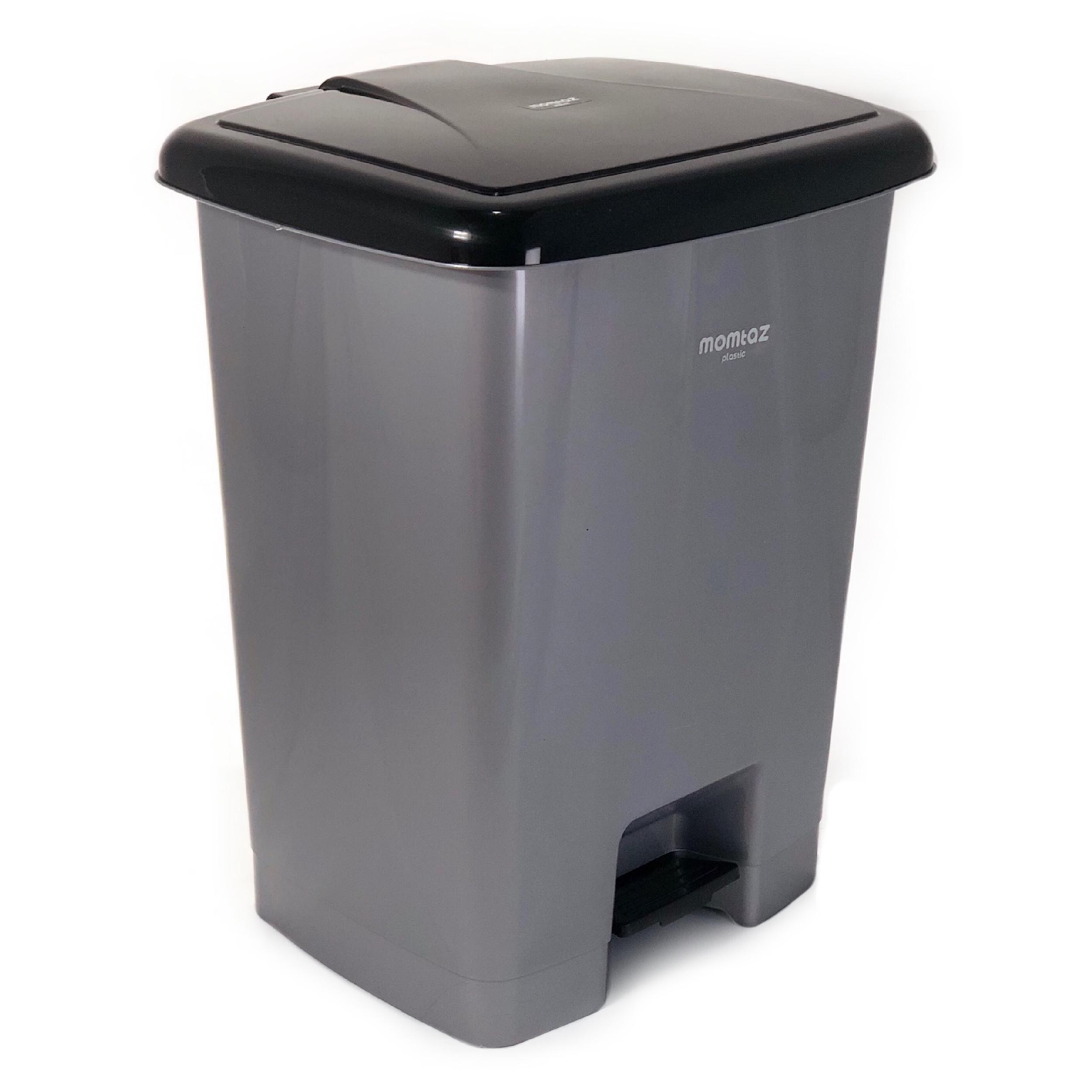سطل زباله پدالی ممتاز پلاستیک مدل 740 ظرفیت ۳۵ لیتری