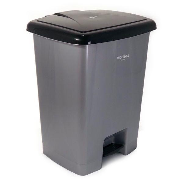 سطل زباله پدالی ممتاز پلاستیک مدل 740 ظرفیت 35 لیتری