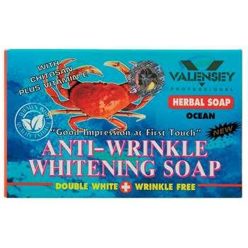 صابون ضد چروک و روشن کننده والنسی مدل Crab مقدار 70 گرم