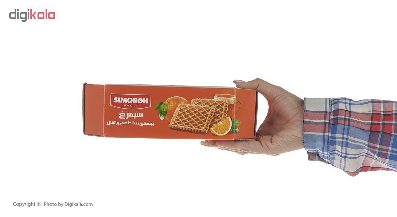 بیسکویت سیمرغ با طعم پرتقال وزن 600 گرم main 1 5