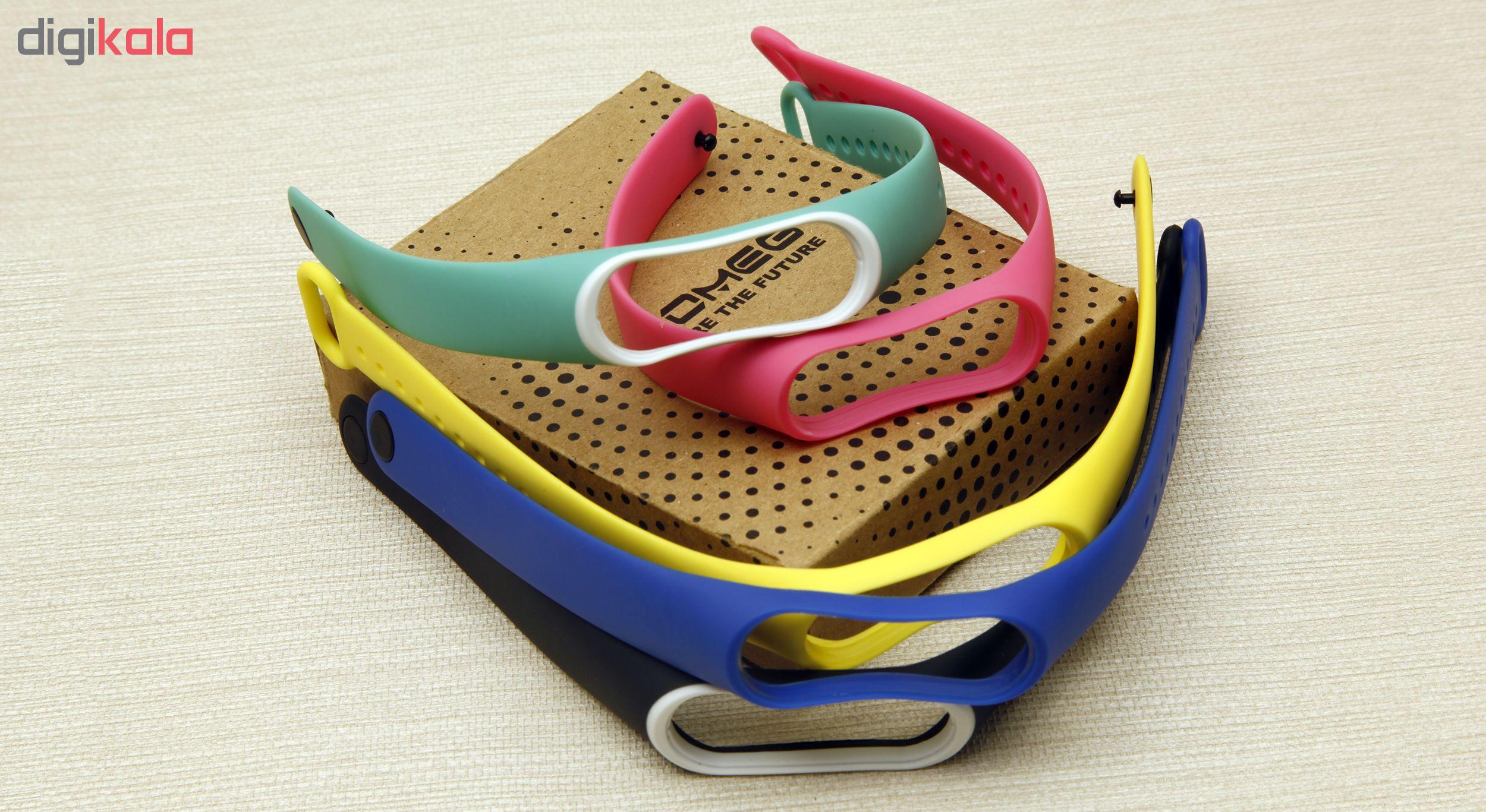 بند سومگ مدل SMG-P1 مناسب برای مچ بند هوشمند شیائومی Mi Band 4  مجموعه 5 عددی main 1 17