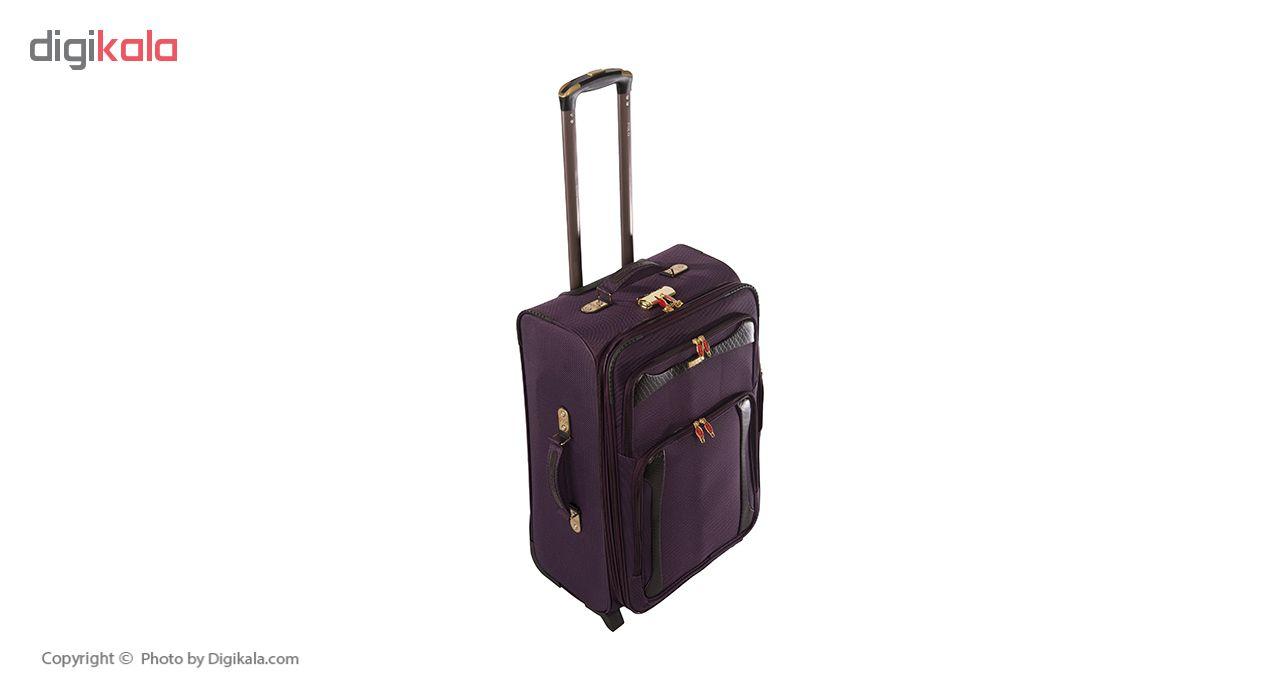 مجموعه 3 عددی چمدان کد Gld11