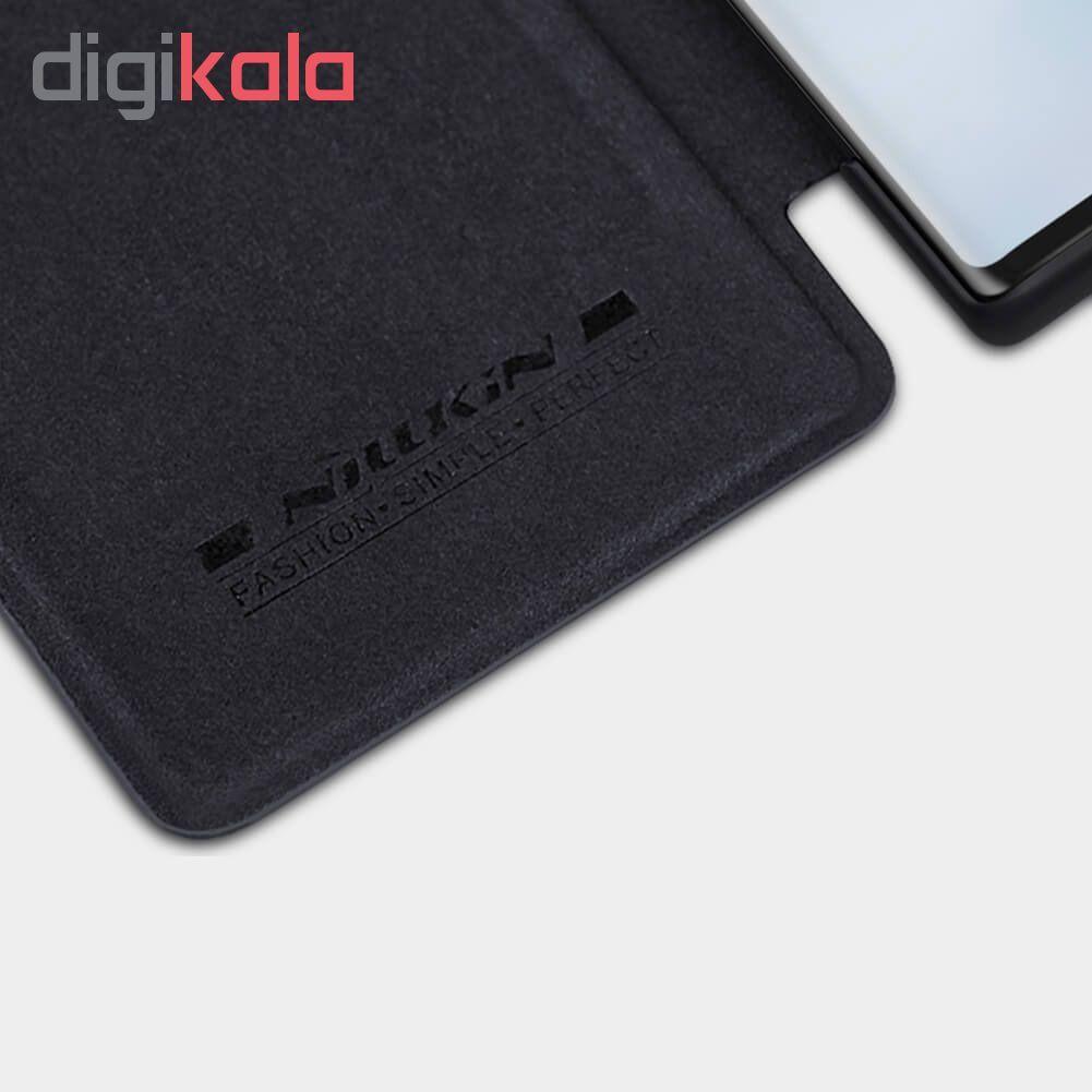 کیف کلاسوری نیلکین مدل QIN مناسب برای گوشی موبایل سامسونگ Galaxy Note 10 main 1 4