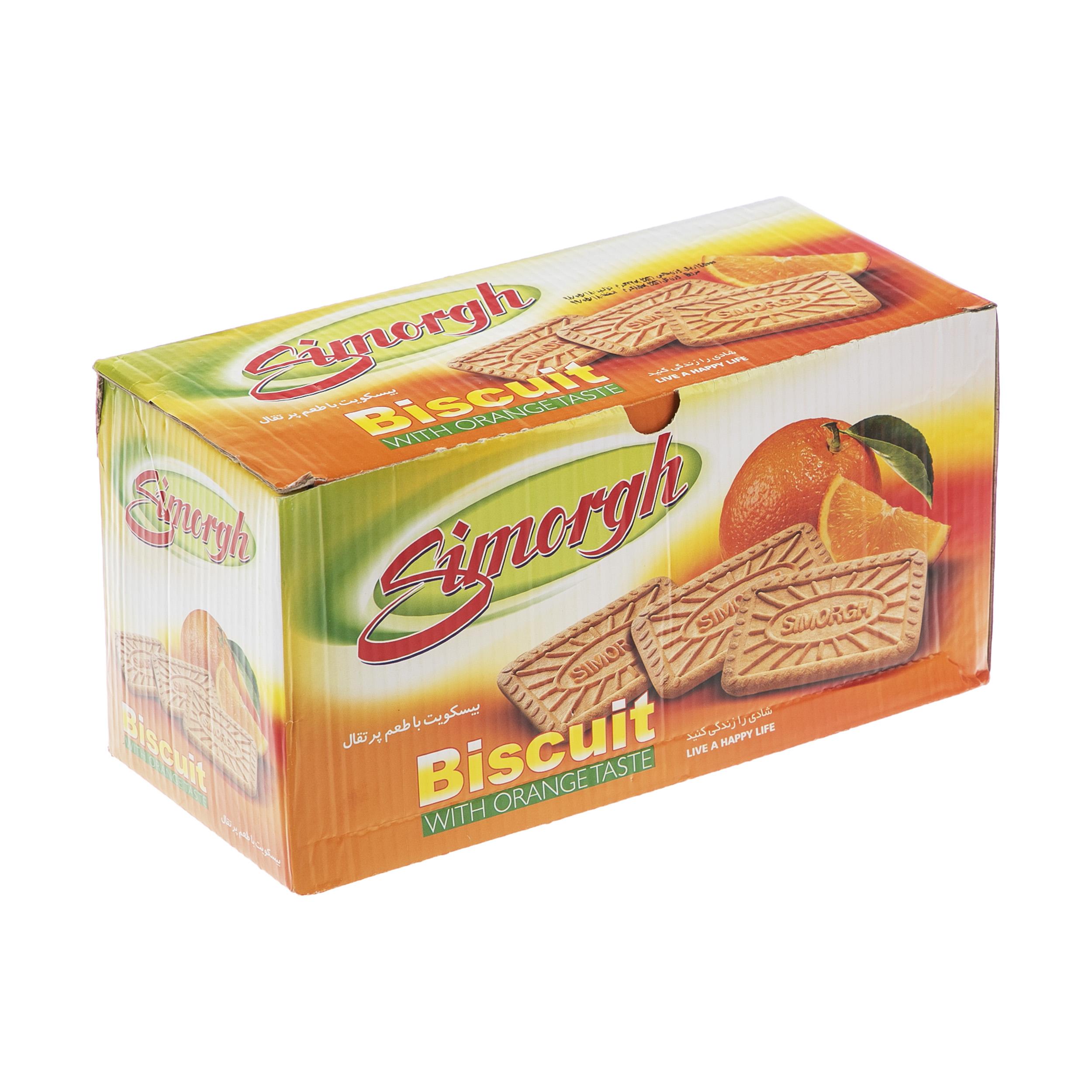 بیسکویت سیمرغ با طعم پرتقال وزن 850 گرم