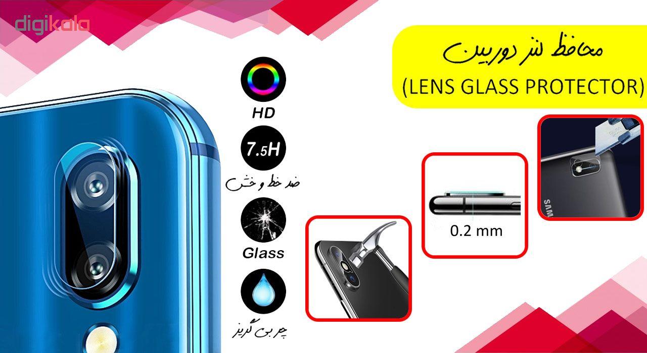 محافظ لنز دوربین آواتار مدل  LNZ-GLS-SA10-1 مناسب برای گوشی موبایل سامسونگ Galaxy A10 main 1 1