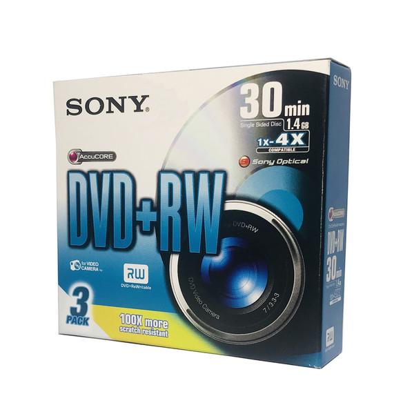 دی وی دی خام سونی مدل 3DPW30S2 بسته 3 عددی